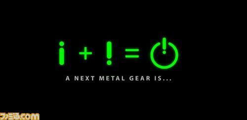 A NEXT METAL GEAR IS.... Nazo
