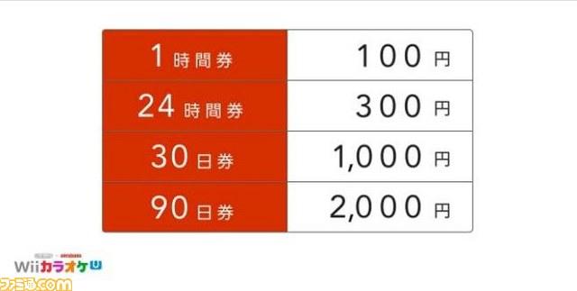 Wii U本体内蔵ソフト『Nintendo×JOYSOUND Wii カラオケ U』が発表! 詳細も明らかに_02