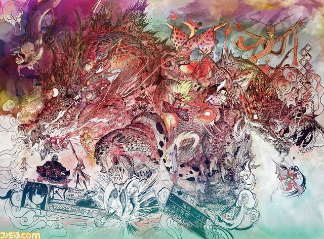 『GOD WARS ~時をこえて~』竹安佐和記氏の描く美麗イラスト&描画動画が公開