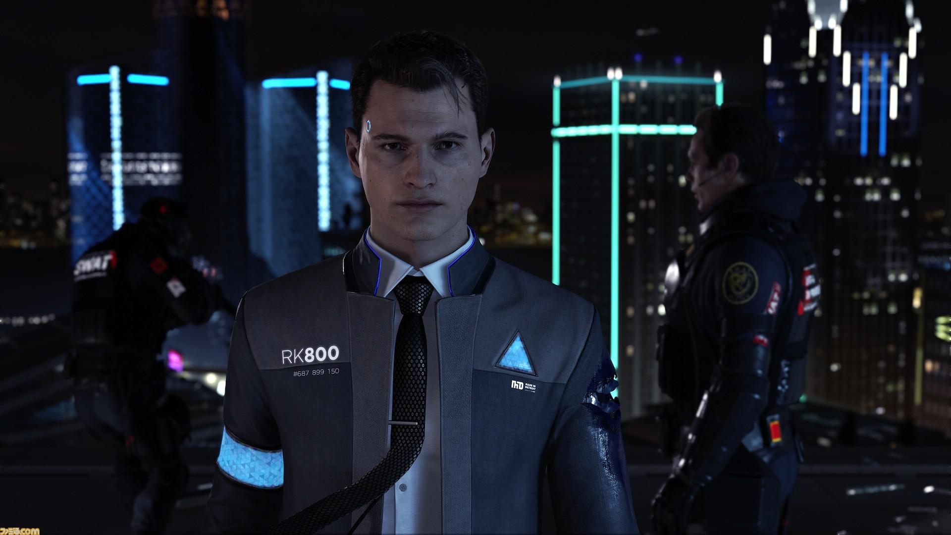 Detroit Become Human プレイインプレッション 唯一無二の鋭い空気感 ファミ通 Com