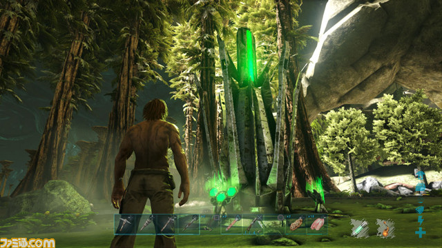 ark survival evolved 広大な地下世界を追加するdlc第2弾 aberration