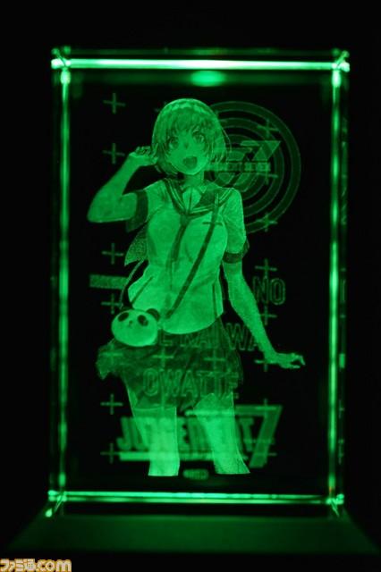 "『JUDGEMENT 7 俺達の世界わ終っている。』3Dクリスタル""早瀬ユウノ""の実物画像&映像が公開!_04"