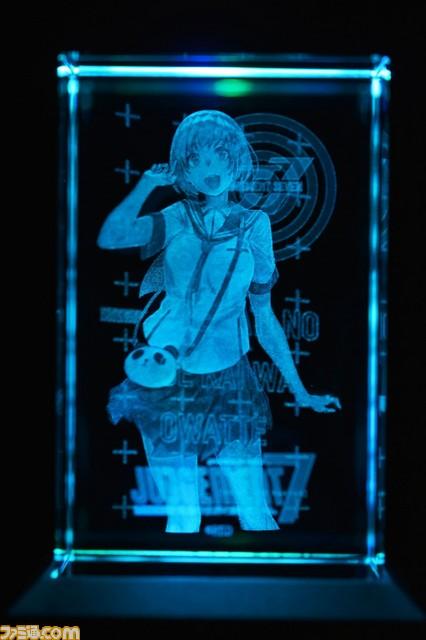 "『JUDGEMENT 7 俺達の世界わ終っている。』3Dクリスタル""早瀬ユウノ""の実物画像&映像が公開!_03"