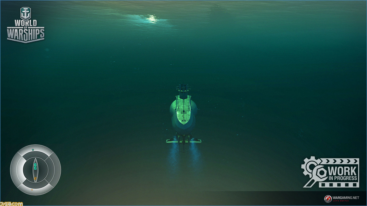 wows 潜水艦