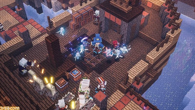 "『Minecraft Dungeons』が期間限定で遊び放題! 8月9日よりNintendo Switch Online加入者限定サービス""いっせいトライアル""に登場"